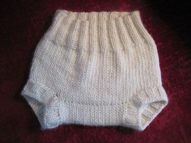 culotte de protection imperméable en laine pour couches lavables