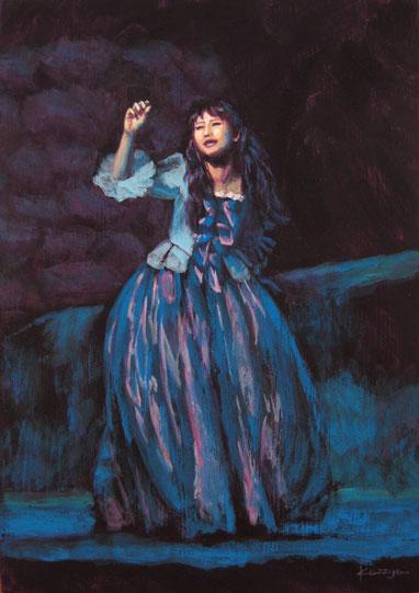 《舞台『嵐が丘』より》〜2015年5月、観劇後に制作した作品〜