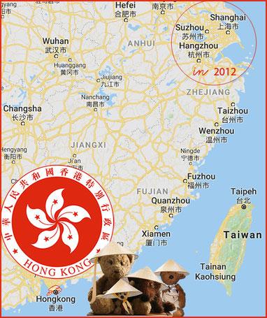 Kasimir, Cäsar, Fredi und Kerln im fernen Hongkong