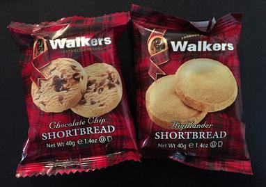 Zum Naschen: Shortbread oder Shortbread Chocolate Chips