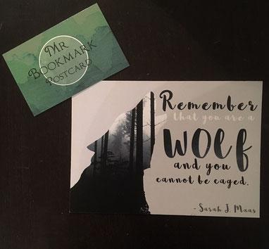 Postkarte von Mr. Bookmark
