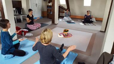 Yogawochenenden auf Burg Bodenstein