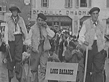Lous Bazasés Pyrenees costume fete  - Film British Pathé - 01/09/1938