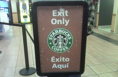 Foto Cartel Starbucks