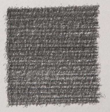 """""""Je suis"""", détail, dessin, graphite sur BFK Rives, 25 x 32,4 cm, 2019"""