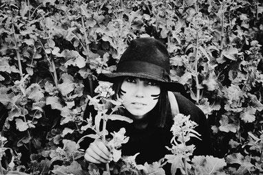 laura deberle photography forest wander wild nature portrait woman deberle