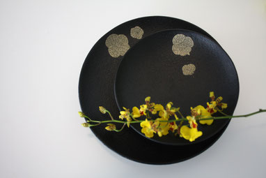 "small plate set ""Memory"" by Sayo Kuroki"