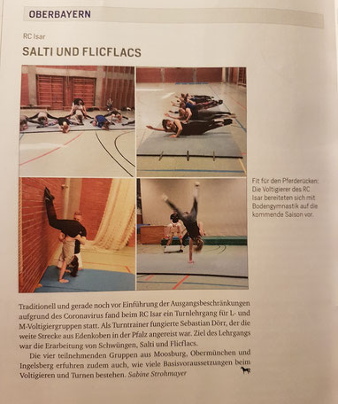 Bayerns Pferde, Ausgabe 06/2020