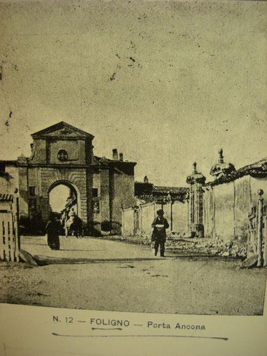 Porta Abbadia: immagine di fine XIX secolo