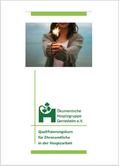 Flyer Qualifizierungskurs Ehrenamtliche