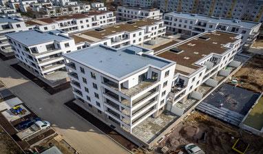 Luftaufnahmen Dresden, Pegasus Residenz, OBERÜBERKARGER, Dresden von oben