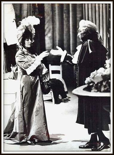 Tosca - Scarpia - con Gigliola Frazzoni - Losanna 1961