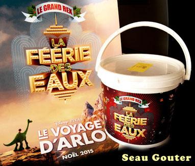 Seau gouter au Grand rex à 5 ou 7 euros