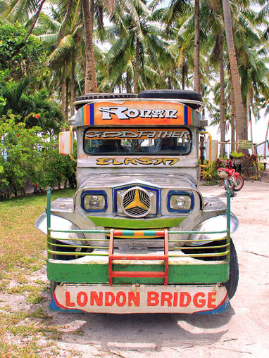 Travel Philippines | Colorful Jeepney. Philippines © Sabrina Iovino | via @Just1WayTicket