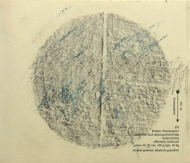 o.T. 2006 Graphit, Kreide 17,5 x 21 cm