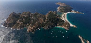 Visita a la Isla de San Simòn en Ria de Vigo