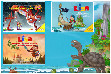 Die Lisa-Bücher aus dem Alwis Verlag