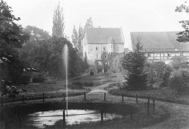 Schloss Heynitz  1920er Jahre, Foto: Nachlass Benno v. Heynitz