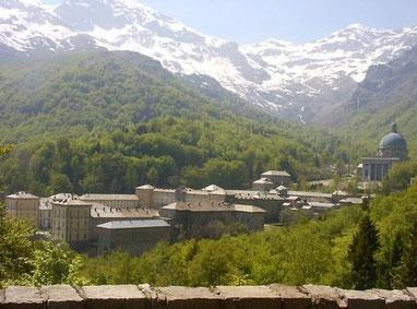 Die Klosteranlage von Oropa