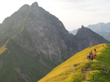 Sanftes und achtsames Bergwandern im Allgäu