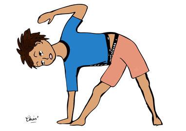 yoga école enfants