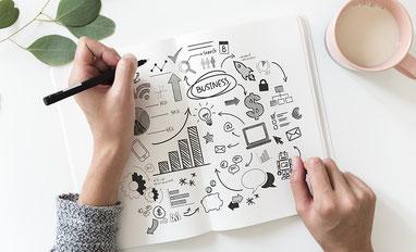 Texte und Webdesign für Gründer und Start-ups