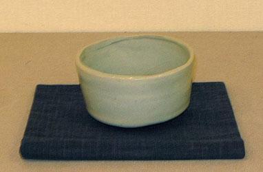 抹茶筒茶碗 (径13cmx高さ7.5cm)