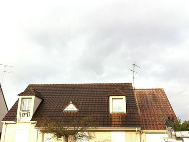 traitement antimousse toiture