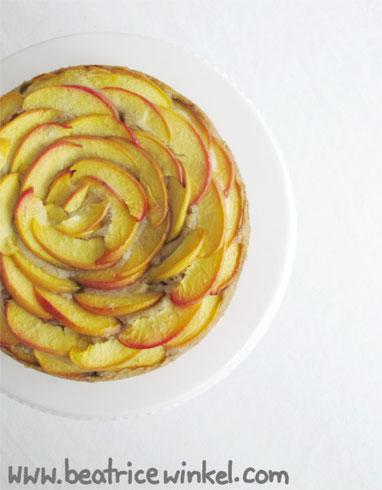 Beatrice Winkel - nectarine gooseberry cake