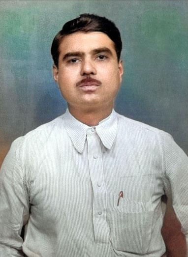 Colourized image by Nagendra Gandhi