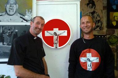 Avec le Père Benoît à Hyères