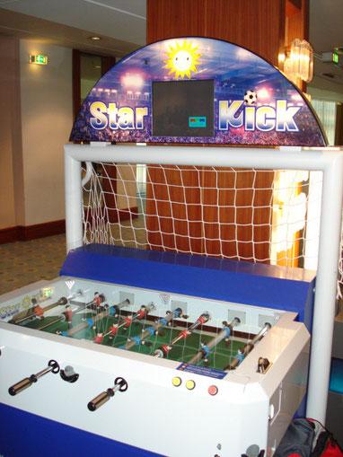 Kicker Automat, geile Erfindung