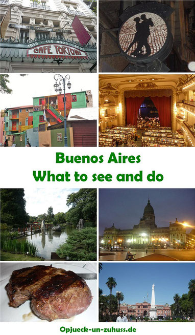 Buenos Aires - what to see and do