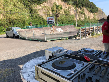 青空DJ & SK8