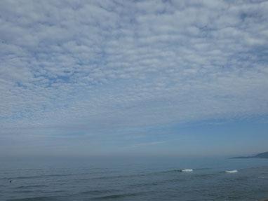 雲が幻想的だった~
