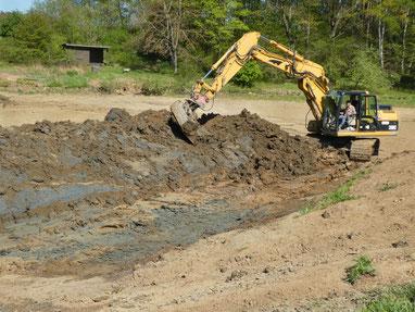 Sanierungsarbeiten bei Forkendorf (Foto: P. Gerstberger)