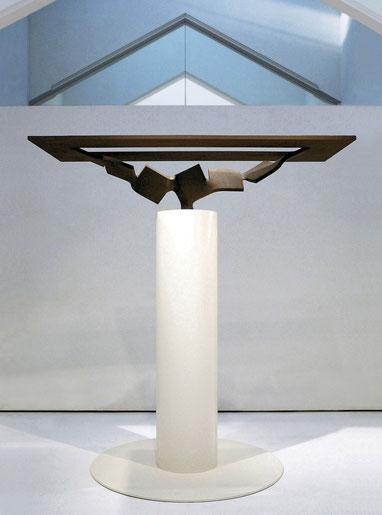 Metamorphosis (変容) - 水面 <No.M - 31>/2010/H.185 x 180 x 110cm /mild steel (軟鋼)         第10回 あさご芸術の森大賞展  [優秀賞]