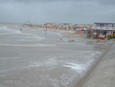 Sturmflut im Sommer