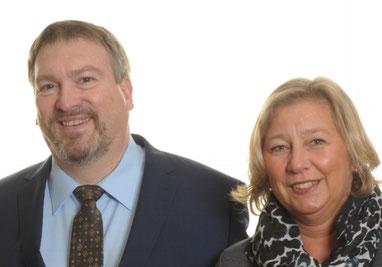 Burkhard Rüppell und Petra Edelhoff