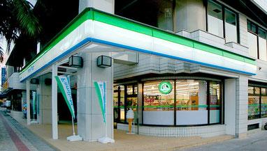 石垣島のコンビニ、ファミリーマート