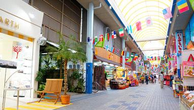 石垣島のアーケード街、ユーグレナモール
