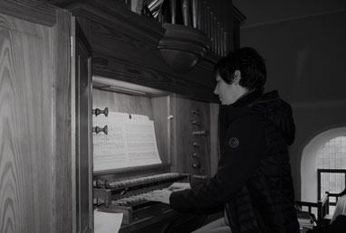 Organistin Emma Eirich