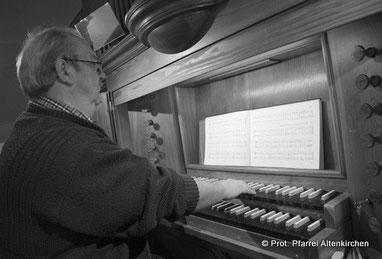 Organist Udo Kugge