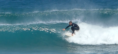 correct surfing stance Justin West surf coaching