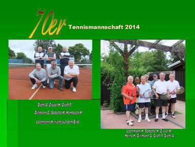SKG Stockstadt Tennis - Herren 70 Medenrunde Saison 2014