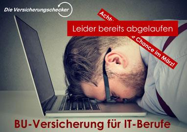 Berufsunfähigkeitsversicherung für IT-Berufe