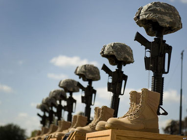 Памяти солдат, погибших на базе Форт Худ