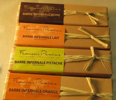 chocolat en barre François Pralus