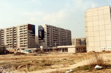 Ansicht Siriusstr. Ecke Ortolfstraße 1991 - Bild: Archiv BVA