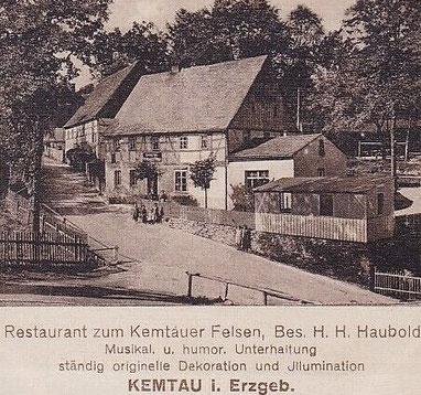 Ansichtskarte um 1913
